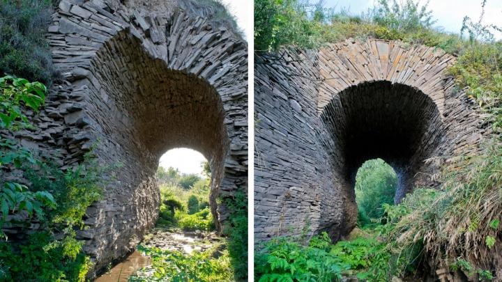 В крае разрушается уникальный каменный мост времен Екатерины Второй