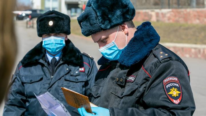 В Самарской области оштрафовали 91 нарушителя самоизоляции