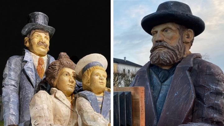 «Выражение лица зверское»: правнучка Лейцингера считает, что его статуя в Архангельске не удалась