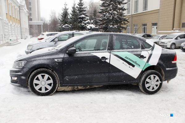 Каршеринговый автомобиль «Фольксваген-Поло»