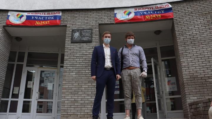 Как голосовали в Нижнем Новгороде: фоторепортаж с избирательных участков