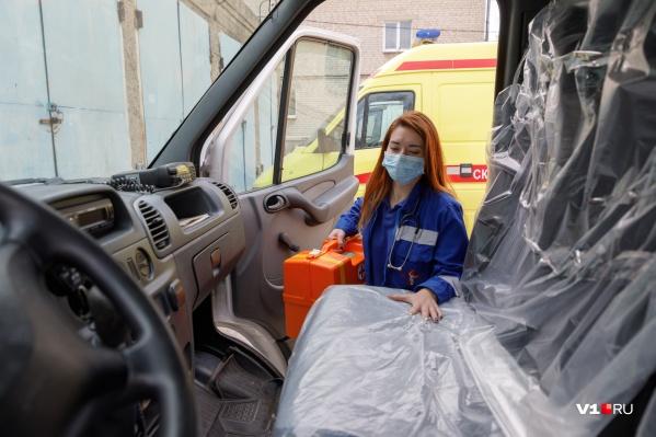 Садясь в машину, медики должны запустить отсчет времени