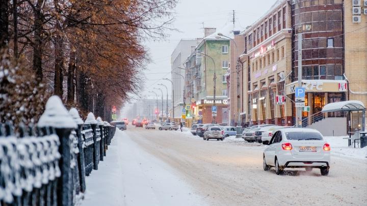 ГИБДД Прикамья просит водителей быть осторожнее из-за непогоды