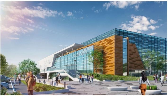Строить Дворец водных видов спорта в Екатеринбурге начнут до конца года