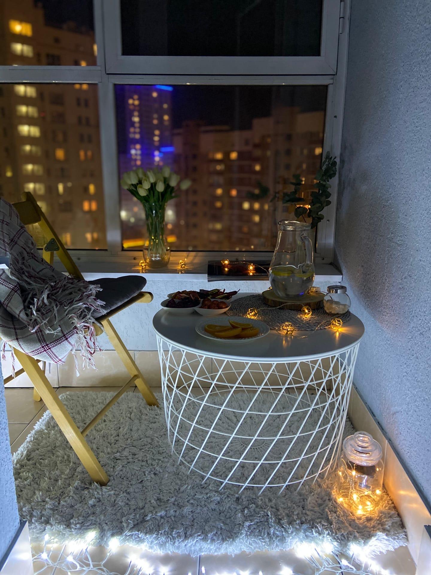А как насчет балконной романтики?