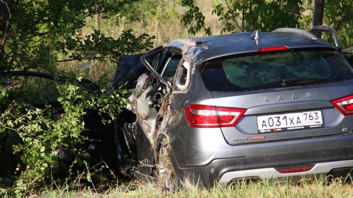 Число жертв смертельной аварии в Самарской области выросло до 5