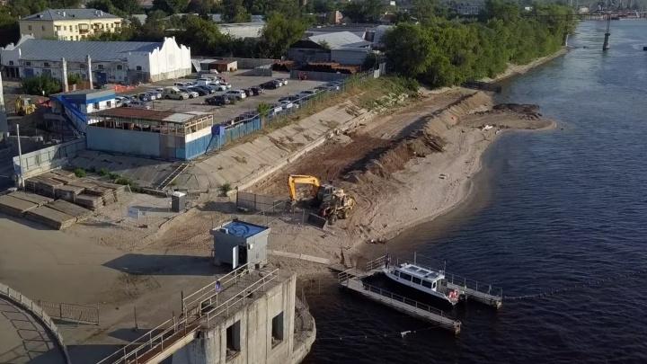 В Минтрансе рассказали, что строят на берегу Волги у речного вокзала