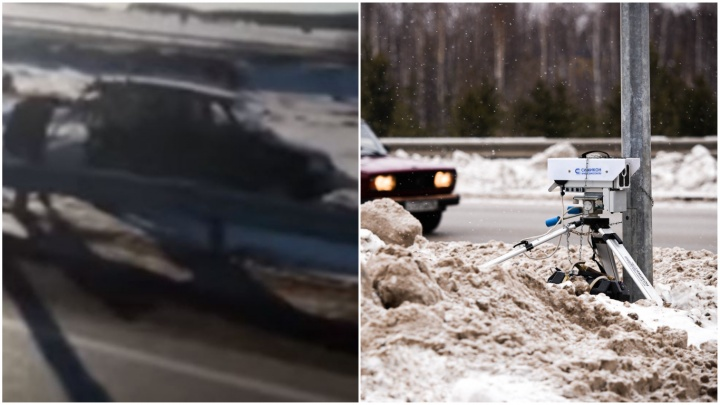 Разбитый бампер помог полицейским найти нападавших на смотрителя за камерой на Челябинском тракте