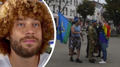 «Элита российской армии сходит с ума»: Илья Варламов предложил приучать десантников к флагу ЛГБТ