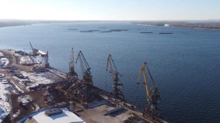 В Самаре начали собирать подписи против переноса грузового порта в Красноглинский район