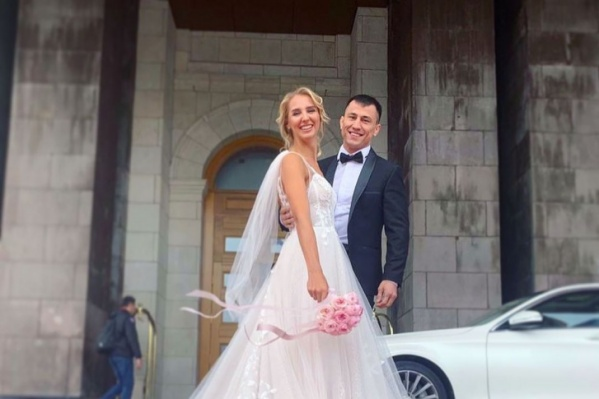 Виолетта и Роман поженились в прошлом году