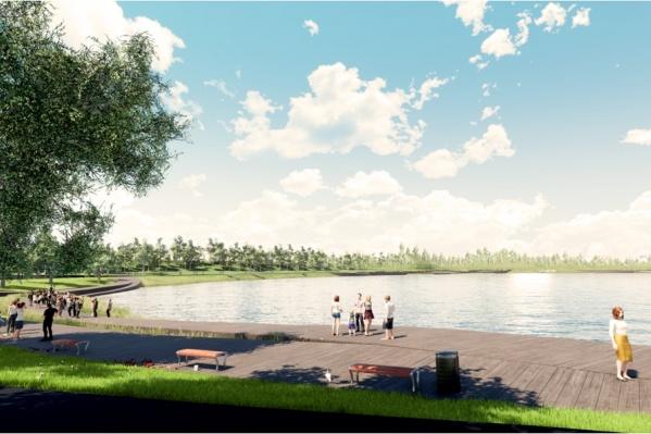 Так в скором времени будет выглядеть парк