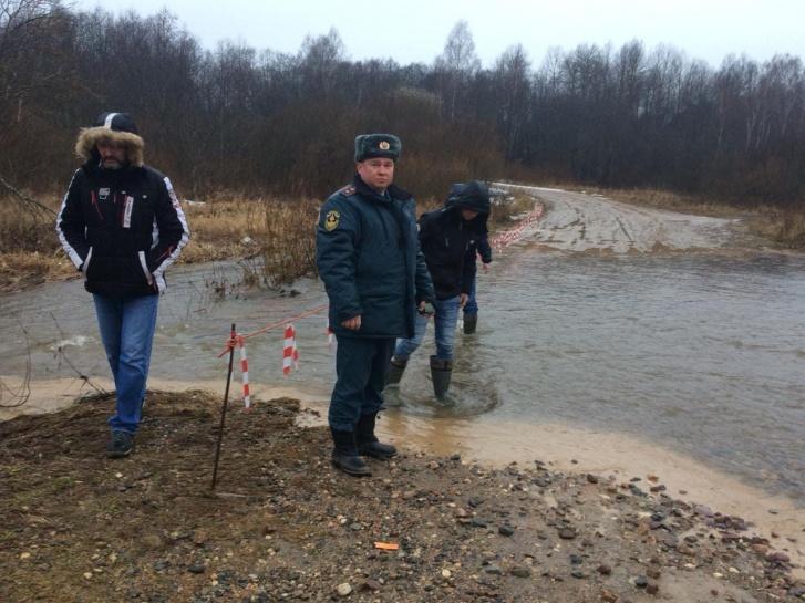 Причиной ЧП стал подъём воды в реке Кубря из-за таяния снега