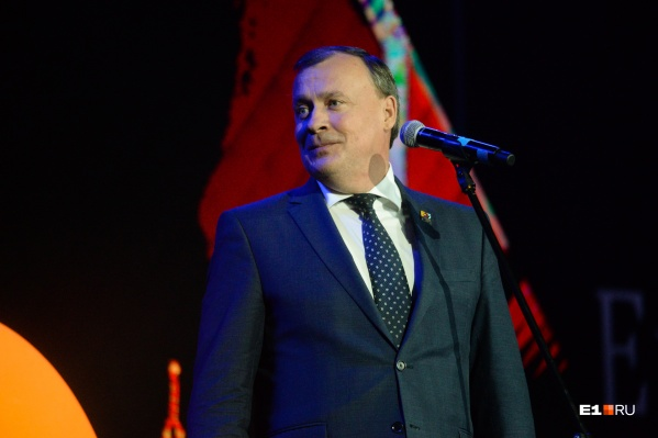 Алексей Орлов пожелал всем жителям Екатеринбурга оптимизма