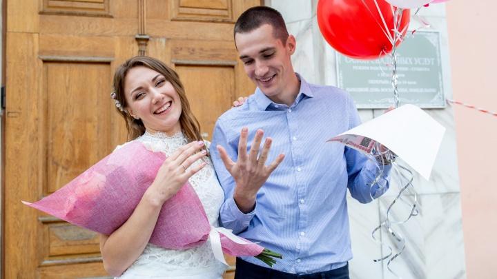 Свадьба в разгар коронавируса: в загсах Ярославля ограничили количество гостей на церемониях