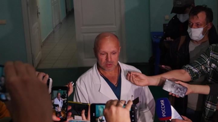 Омским медикам удалось стабилизировать состояние Алексея Навального