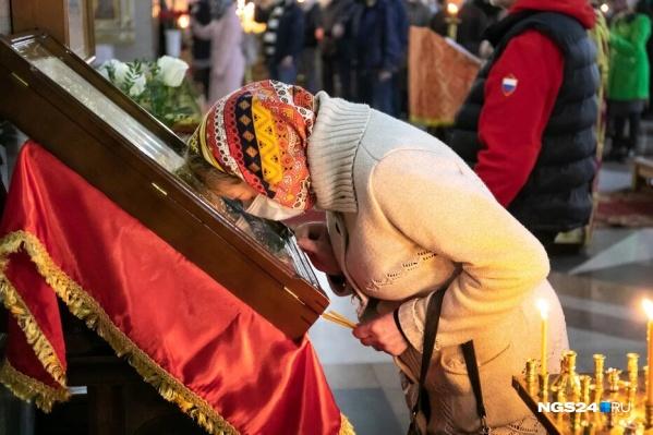 Представители церкви просят надевать маску и соблюдать дистанцию