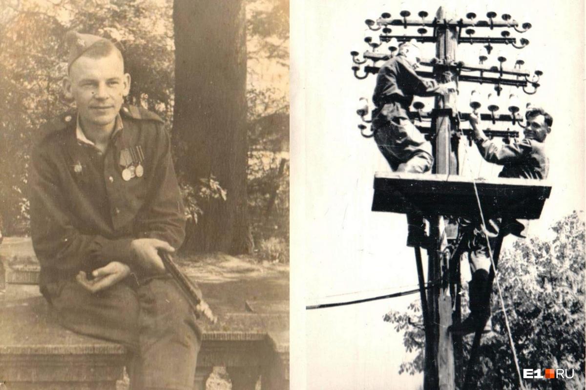 Бориса Ваулина, который на фронте был связистом, редко увидишь на фотографиях — чаще он стоял по ту сторону объектива. Так что это тоже своего рода редкие кадры