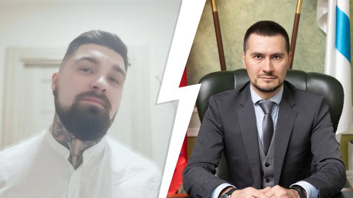 «Чиновник работает на народ»: архангелогородец обратился к главе оперштаба Артёму Вахрушеву