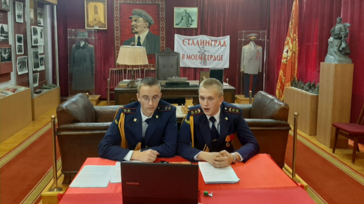 Волгоградские школьники на всю страну рассказали о страшной бомбежке Сталинграда