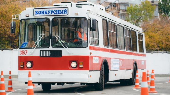Екатеринбуржец стал лучшим водителем троллейбуса в России