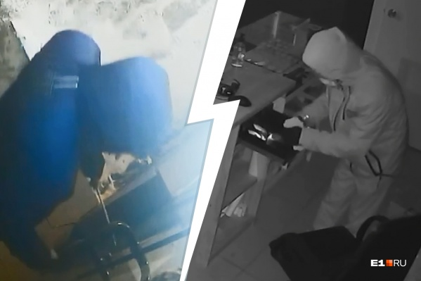 Парень в синей куртке и в медицинской маске успел ограбить магазин кальянов до того, как приехала охрана