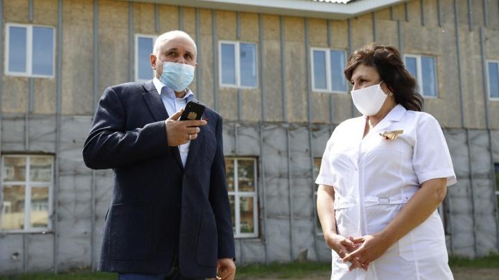 «Так, значит, слушай меня сюда»: губернатор Кузбасса отчитал министра здравоохранения