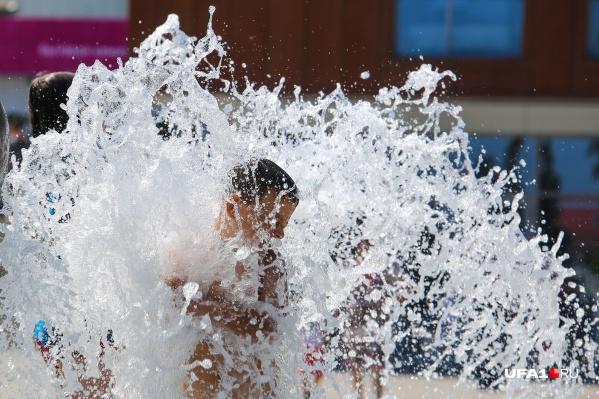 В среду по всей Башкирии установится жара. Дождей в этот день не будет