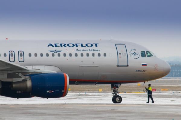 Самолет вынужденно сел в Казани