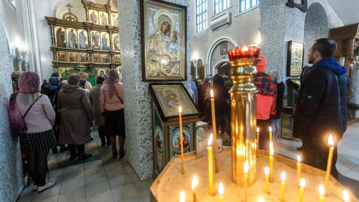Измерение температуры, маски и социальная дистанция: как в храмах Волгограда пройдут пасхальные службы