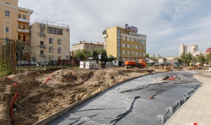 Рядом с храмом Александра Невского в Волгограде строят второй амфитеатр