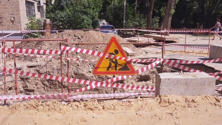 Скоро под землю провалимся: концессии затянули ремонт магистрального теплопровода в центре Волгограда