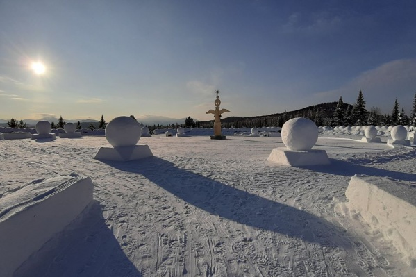 «Город солнца» зимой