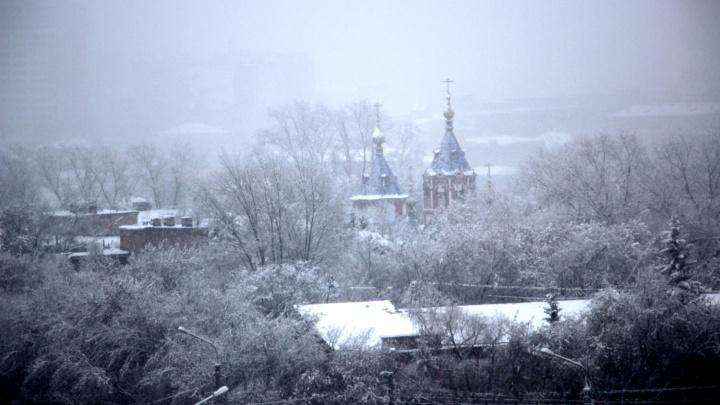 Омские синоптики пообещали метель и порывистый ветер в конце февраля