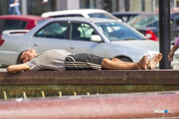 Аномальная жара продержится в городе до конца недели