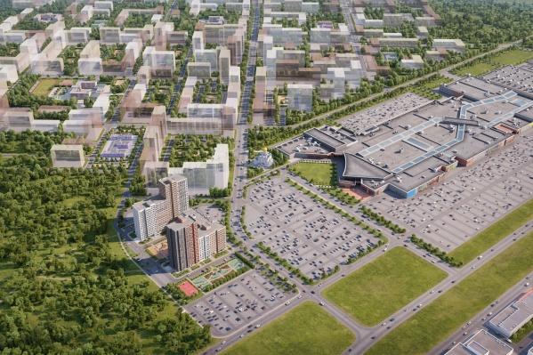 Застройщик «Амграда» планирует освоить еще больше земель вокруг строящихся сейчас жилых домов