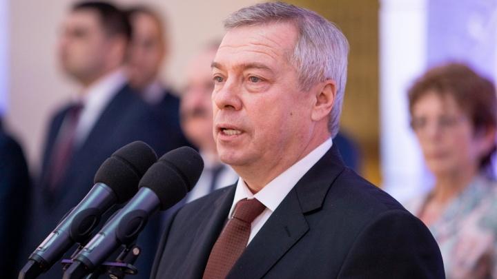 Голубев продлил работу донского правительства на три месяца