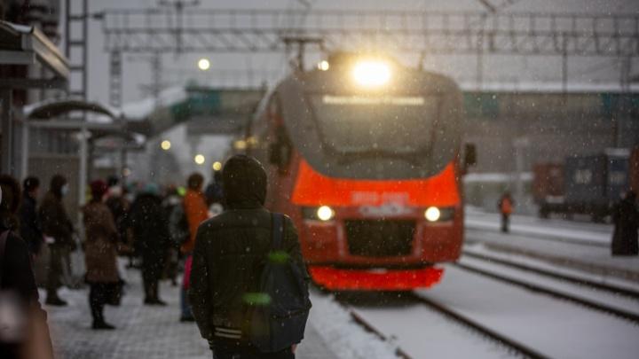 С 1 января поднимется цена на поездки в новосибирских электричках: публикуем список новых тарифов