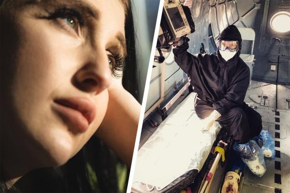 Валерия Мадышева мечтает стать торакальным хирургом, а пока борется с опасным вирусом