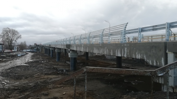 В Ярославле откроют для проезда Добрынинский мост: когда это произойдет