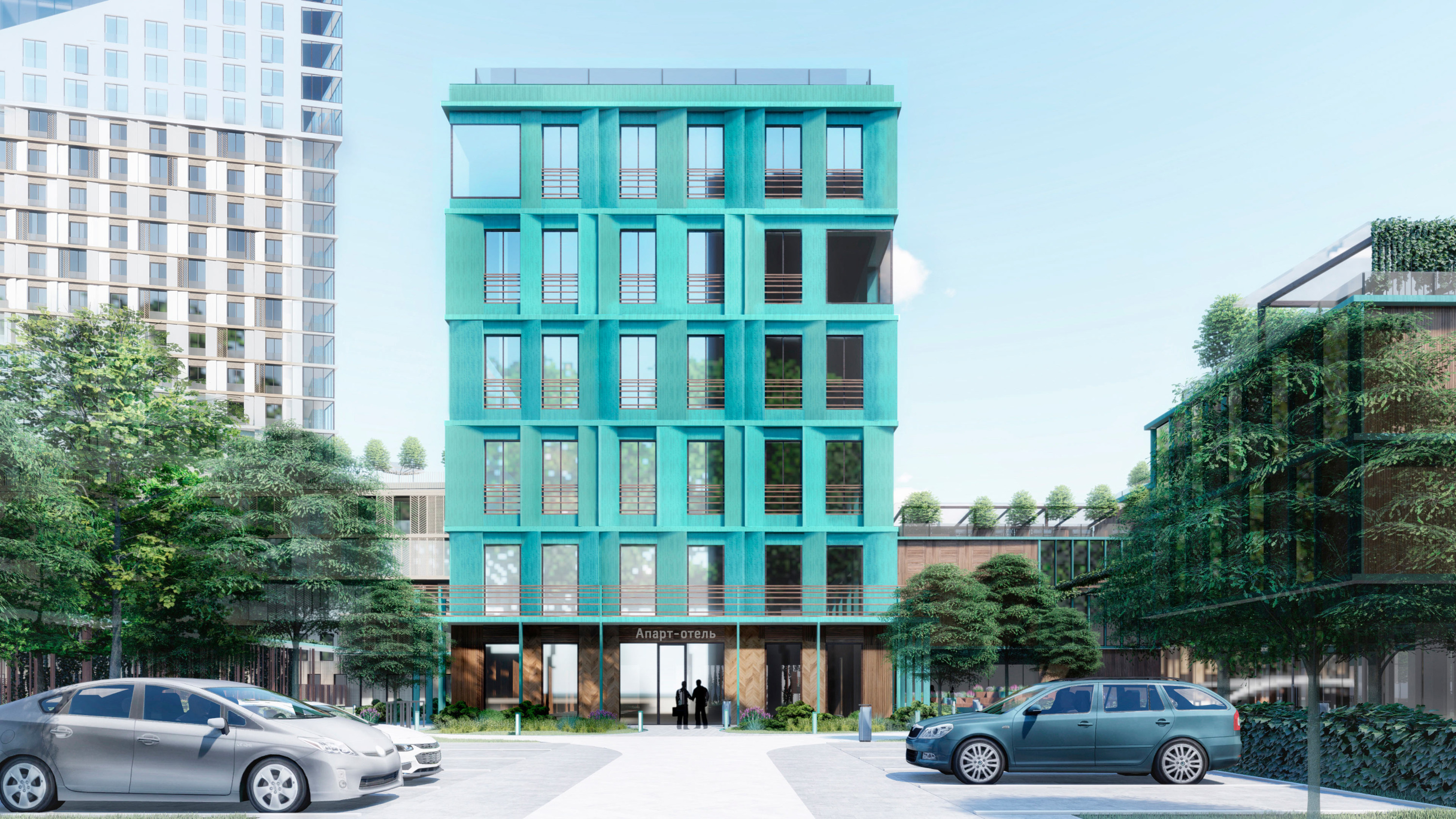 В этом здании хотят сделать офисный центр