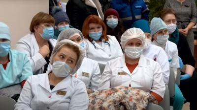 В Коряжму приехал руководитель областного Минздрава. Диалог медиков перешел в ругань