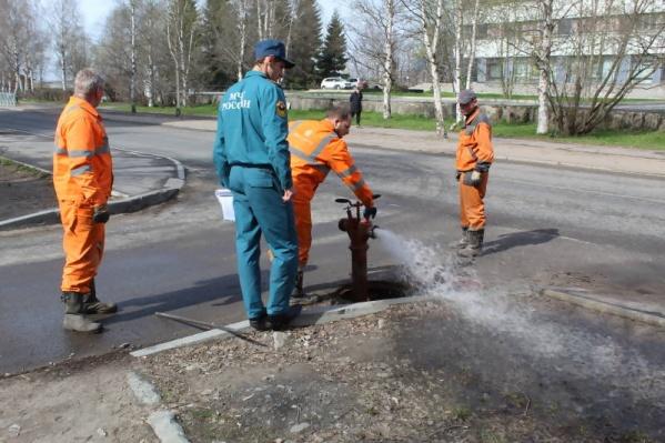 «РВК-Архангельск» запланировал заняться гидрантами осенью