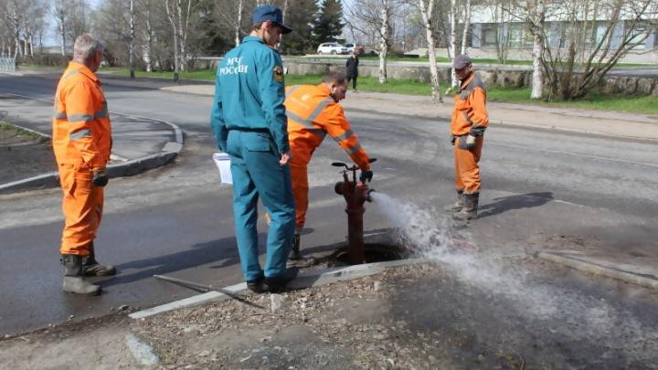 «РВК-Архангельск» проверит пожарные гидранты: почти четверть из них неисправна. Смотрите, где