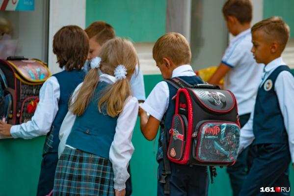 Учеников 14 классов из 11 образовательных организаций Ростова уже отправили на дистанционное обучение