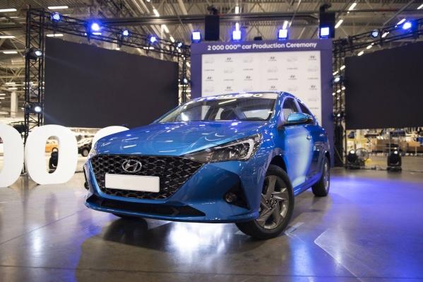 За десять лет существования Hyundai Solaris подорожал более чем в два раза вместе с другими моделями