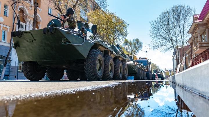 Из-за парада Победы в Самаре перекроют несколько улиц