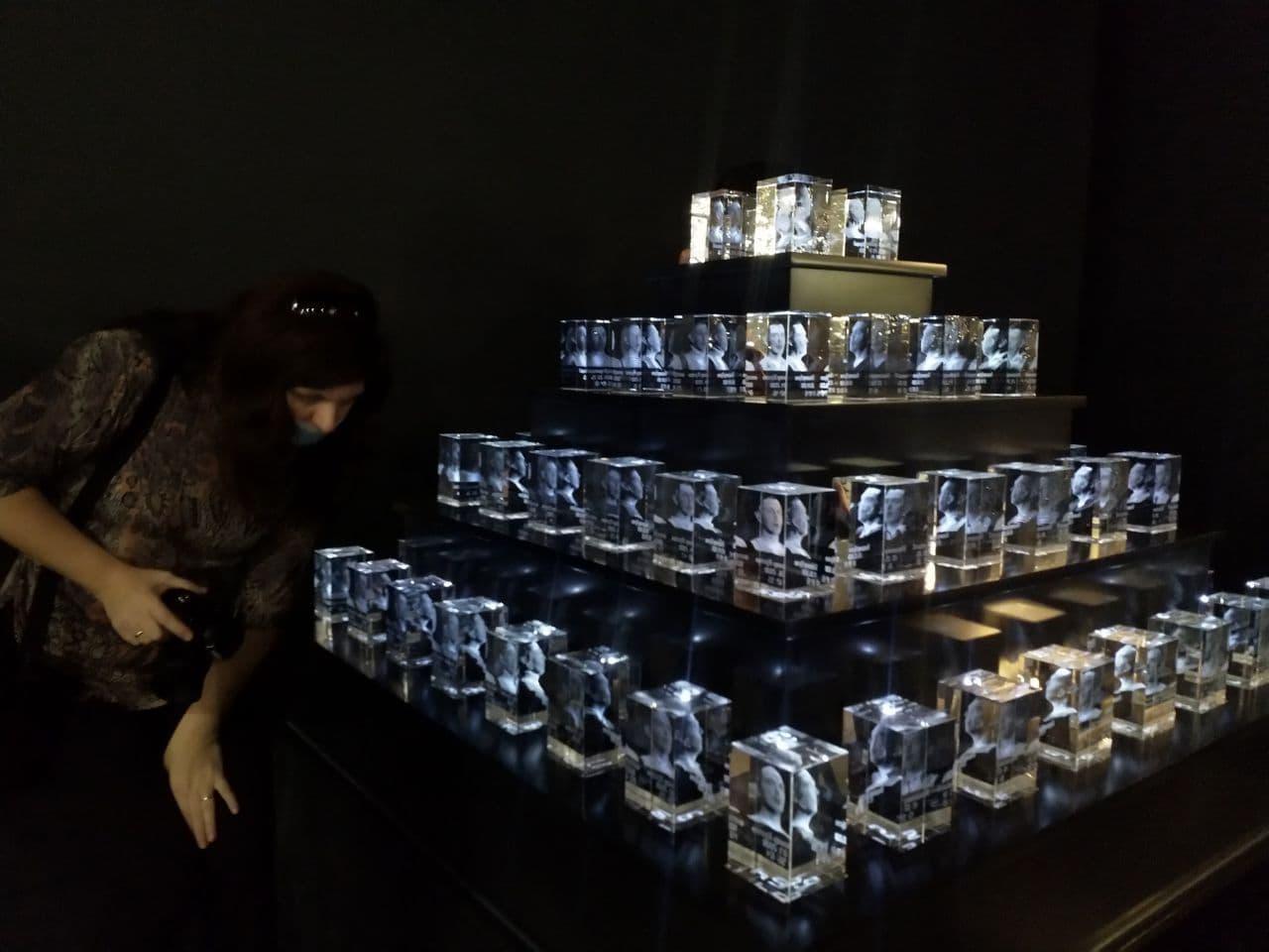 Владимир Кустов. Кристаллизация. Пирамида. 2009