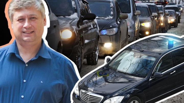 «Попрошу полпреда избавить ЖБИ от пробок» и еще 7 тезисов от главы Кировского района
