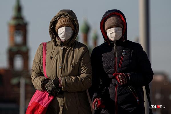 Медики призывают южноуральцев носить маски, чтобы снизить риск заражения COVID-19